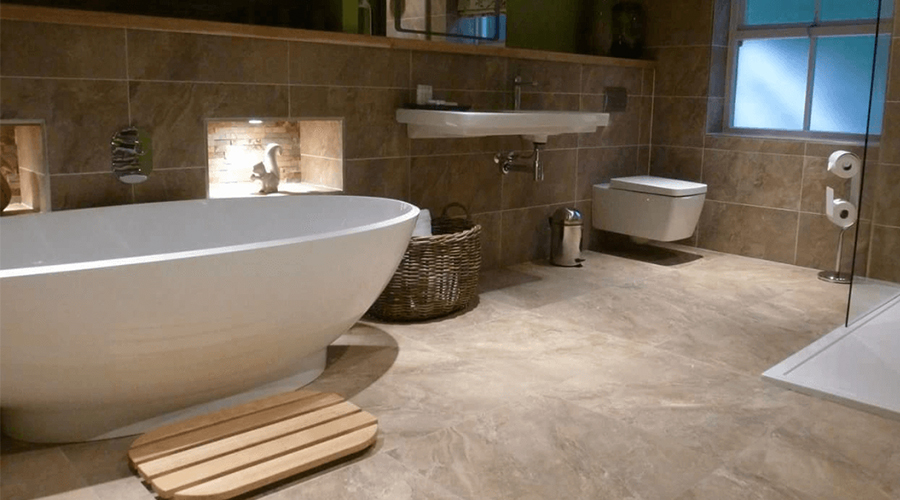 Wall and Floor Bathroom Tiles