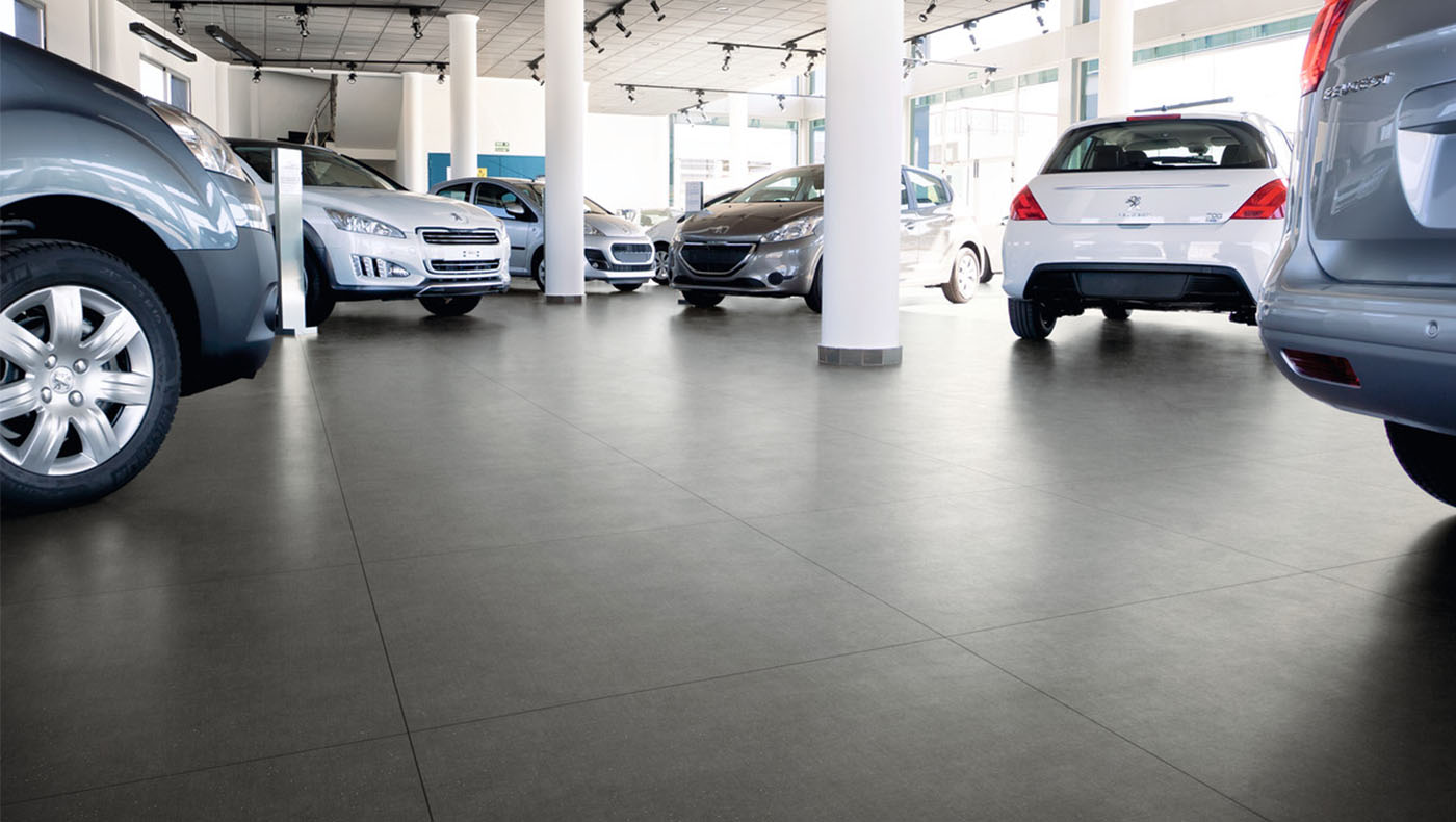 Large Showroom Tiles